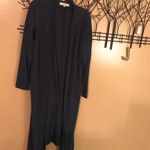 Loft knit duster cardigan size LG